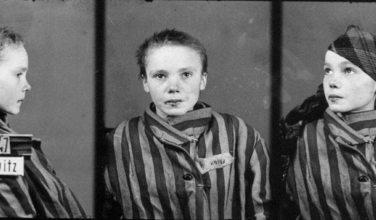 Nazi Toplama Kampına Gönderilen 14 Yaşındaki Kızın Son Fotoğrafları