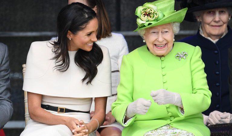 Düşes Meghan Markle ve Kraliçe 2. Elizabeth İlk Kez Bir Etkinliğe Yalnız Katıldı