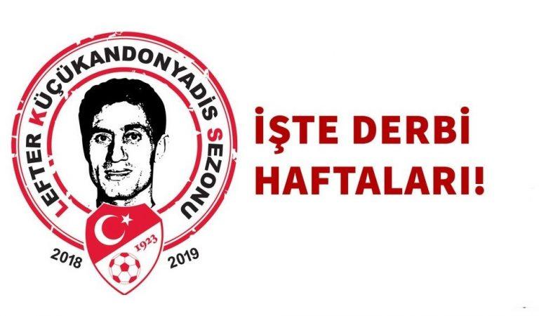Süper Lig'de Fikstür Çekildi! İşte Derbi Tarihleri