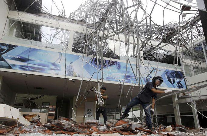 Endonezya Depreminde Hayatını Kaybedenlerin  Sayısı 82'ye Yükseldi