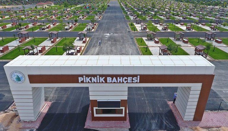 Konya'daki Karaaslan Piknik Bahçesi Açıldı