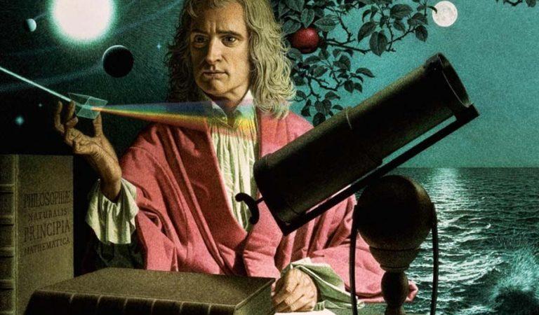 Newton, 'Blue' Kelimesini Neden Sürekli 'Blew' Olarak Yazıyordu?