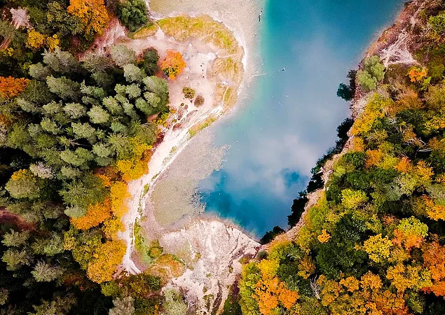 Türkiye'de Bulunan 23 Enfes Noktanın Drone ile Çekilmiş Fotoğraflarına İnanamayacaksınız