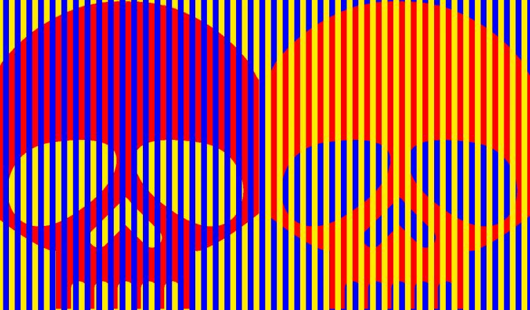 Bu Kurukafalar Aynı Renk! Munker illüzyonu