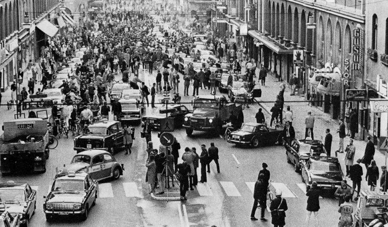 Dagen H: İsveç'te Trafik Akış Yönünün Bir Gecede Değiştirildiği Gün!