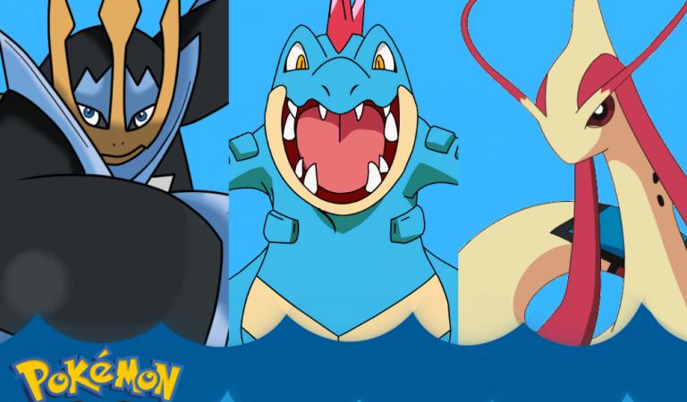 Pokemon Go'da En Güçlü Su Tipi Pokemonlar